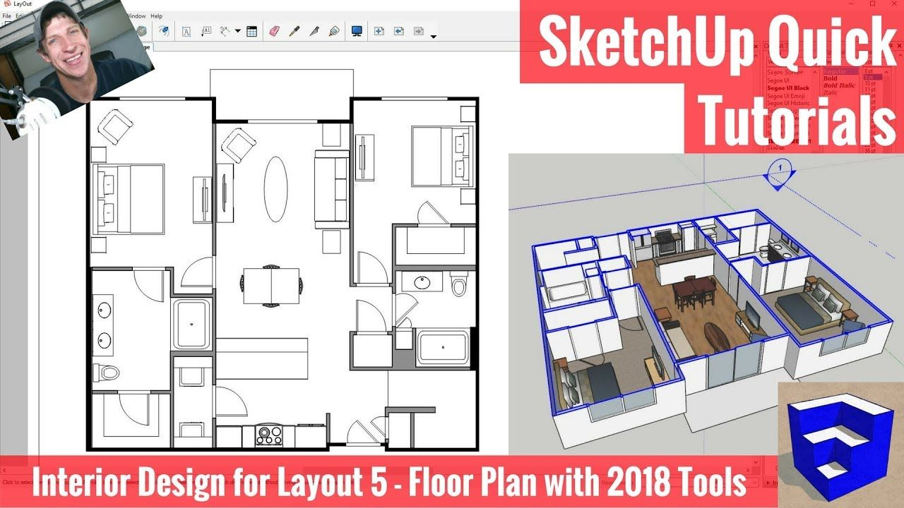 Creating a Floor Plan in Layout with SketchUp 2018's New
