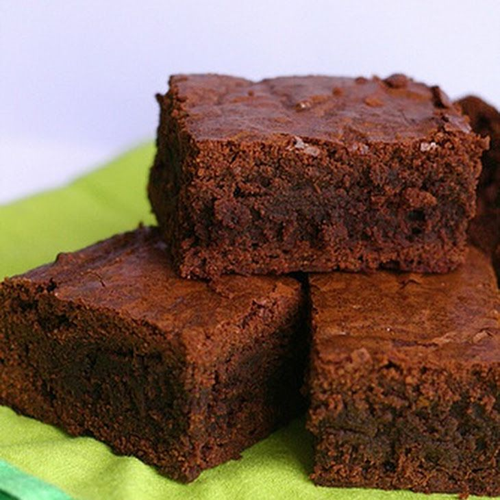 Chewy, Fudgy Triple Chocolate Brownies Recipe Desserts with bittersweet chocolate, unsweetened chocolate, unsalted butter, cocoa powder, large eggs, sugar, vanilla extract, salt, all-purpose flour