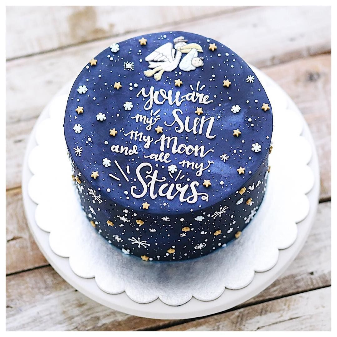 Twinkle Twinkle Cake Birthday Cake For Husband Cake For Husband