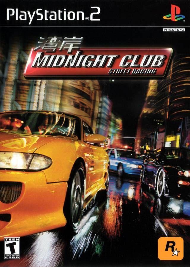 Midnight Club Street Racing Sony Playstation 2 Game Midnight Club Street Racing Playstation 2