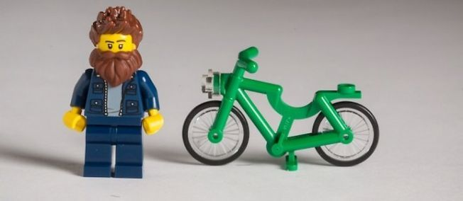 Hipster Lego collection x The Guardian