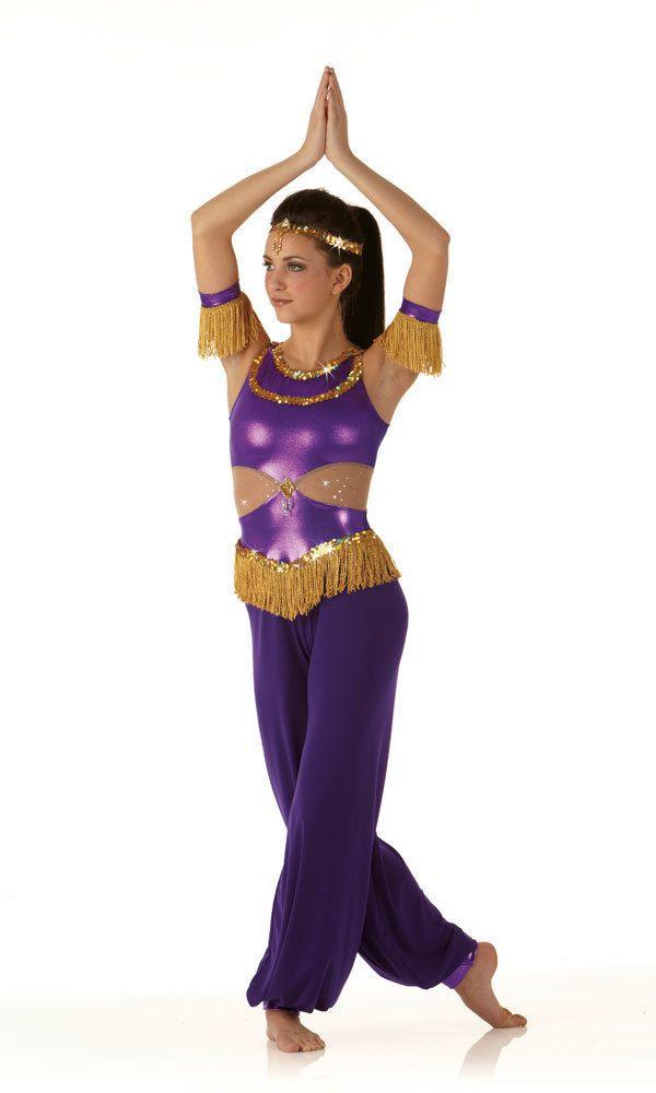 005d040ec070 ARABIAN Genie Nutcracker Jumpsuit Christmas Ballet Dance Costume Child  Small #Cicci