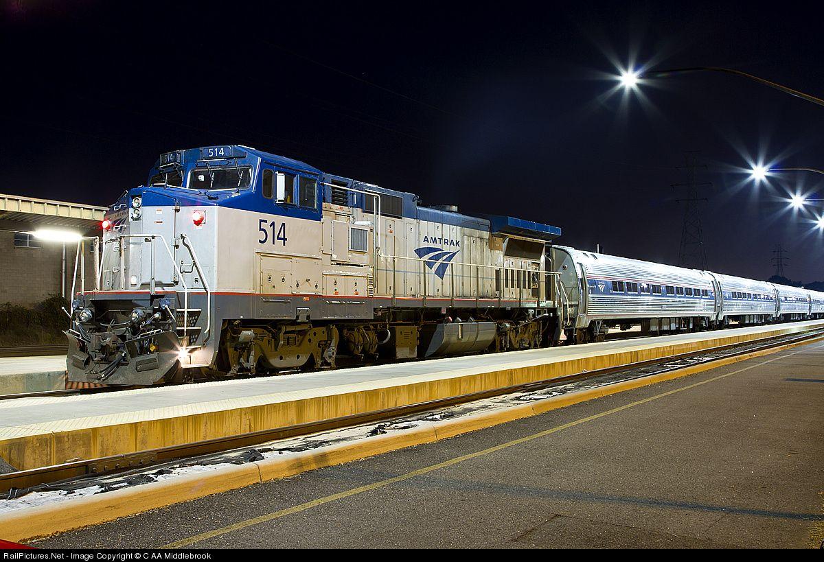 amtrak p32bwh   RailPictures Net Photo: AMTK 514 Amtrak GE