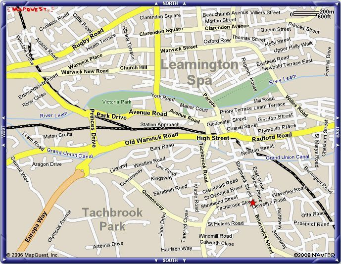 Leamington Spa Map Map of Leamington Spa. | Maps in 2019 | Map, England, Spa