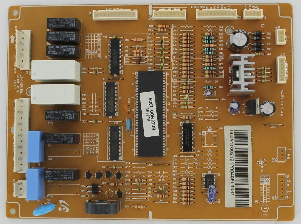 Samsung Da41 00219k Refrigeration Electronic Control Board Broken Appliance Samsung
