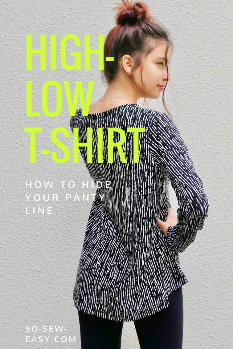 Vokuhila-Shirt | Sewing clothes, Sew pattern and Sewing ideas