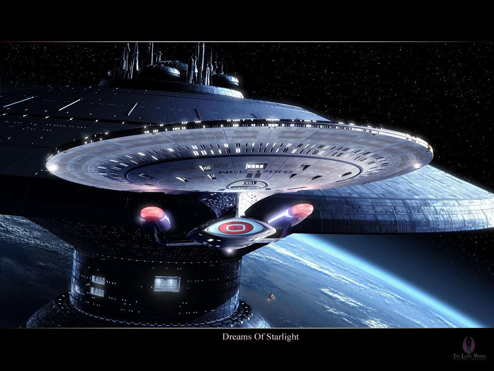 Star Trek USS Enterprise NCC1701D free Star Trek