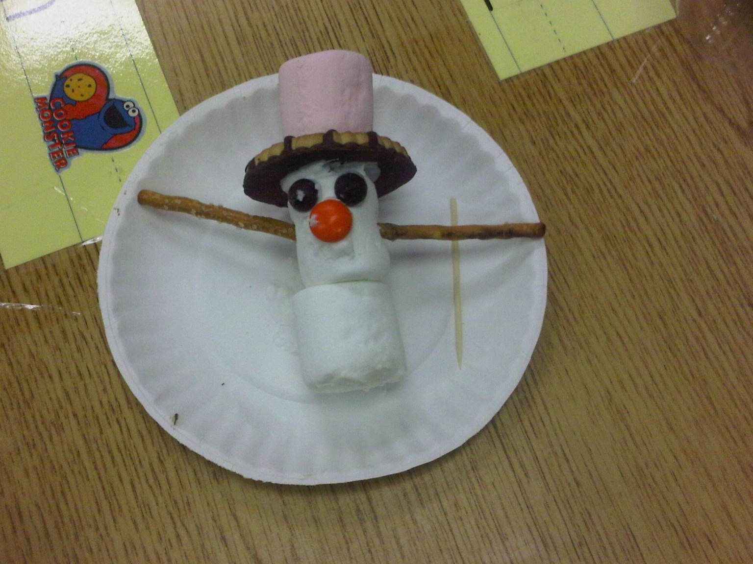 Fun Winter Snack For The Kids