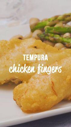 Tempura Chicken Fingers - Plain Chicken