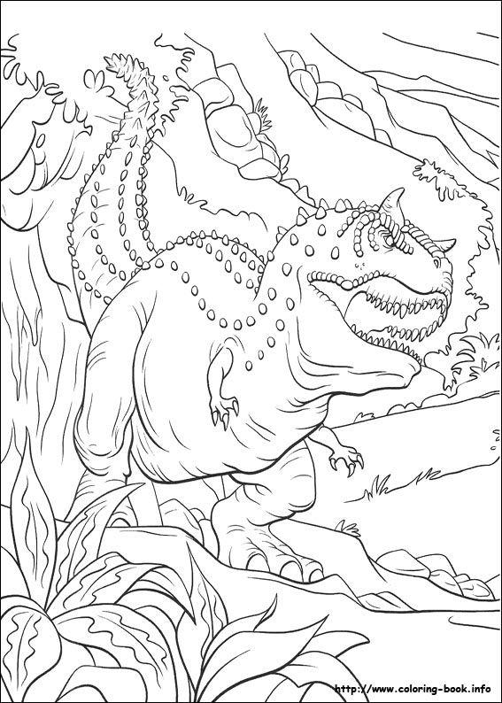 Dinosaure Coloring Picture Färglägga Dinosaurier Och Pyssel