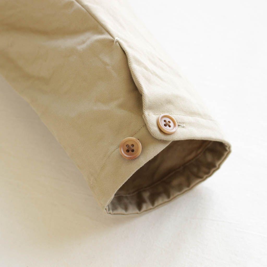 YAECA - Over Coat #beige 「着楽(チャクラ/ciacura)」 三重県四日市市で洋服と器を販売