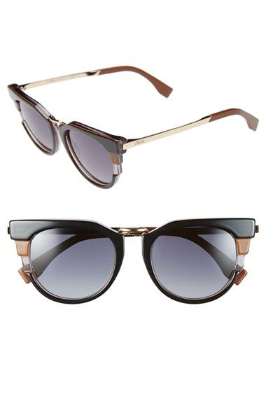 d0465ad8eed Fendi+52mm+Retro+Sunglasses+available+at+ Nordstrom