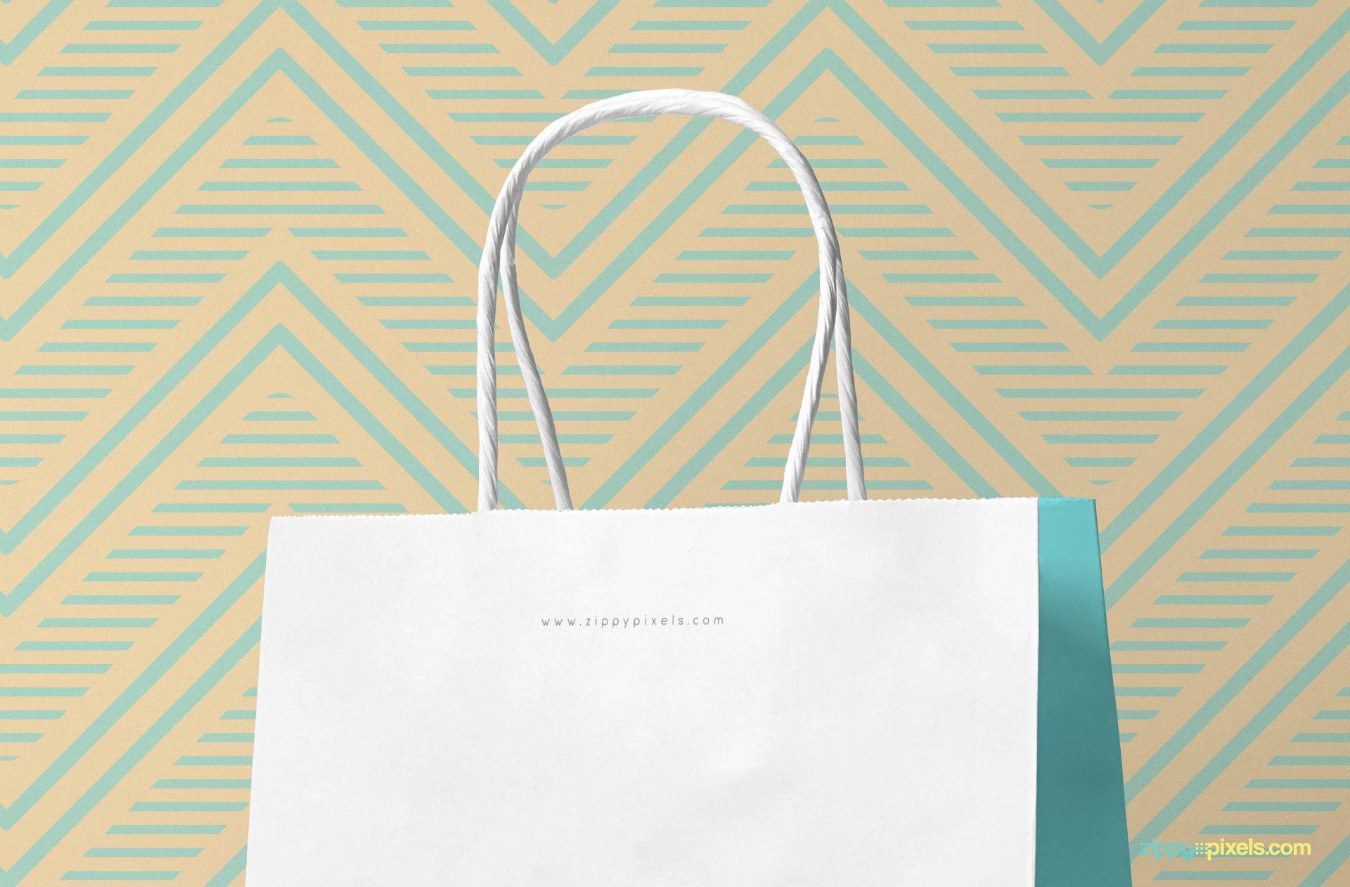 Download Free Attractive Gift Bag Mockup Zippypixels Bag Mockup Psd Templates Attractive Gift