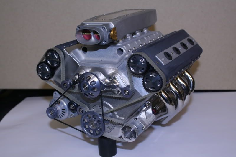 Home model engine builder