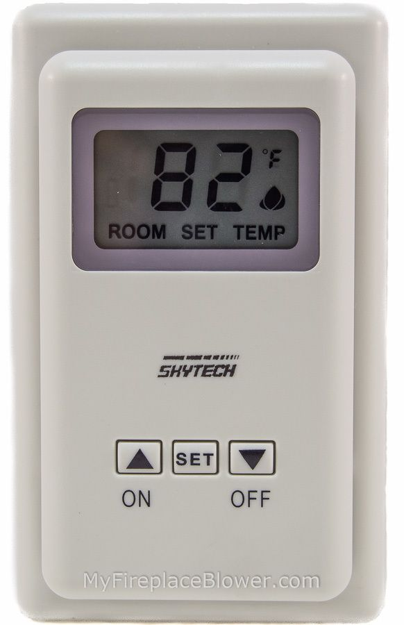 Skytech Ts 3 Thermostat For Gas Fireplaces Gas Fireplace
