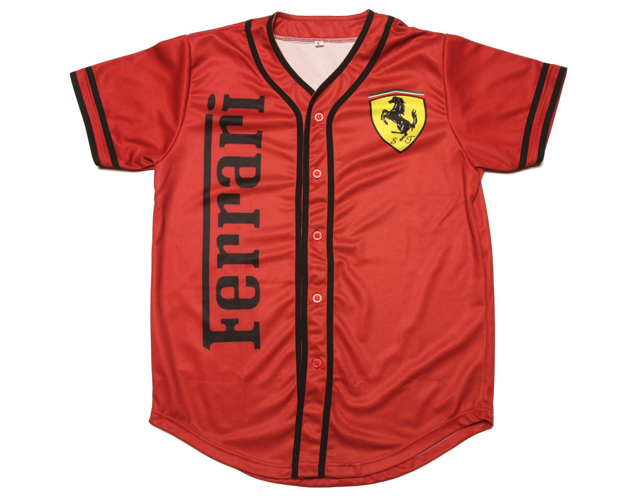 67b4be7de7c1ad air jordan 14 ferrari shirt