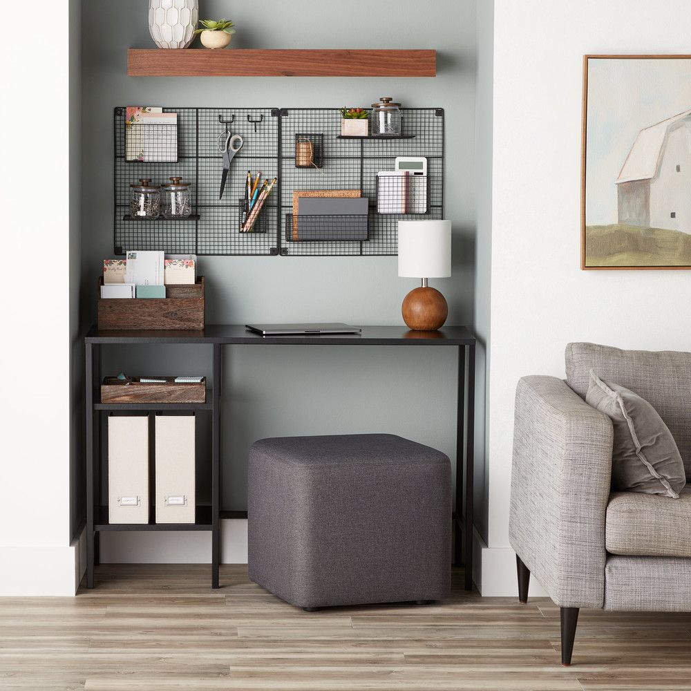 Home Storage Ideas For Small Spaces: Small Space Office Organization Ideas