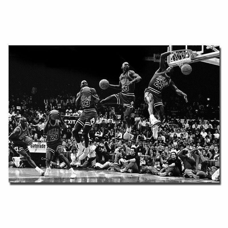 MJ 23 MVP Basketball Poster 20x30 24x36 K845 Art Michael Jordan