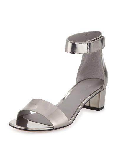 9a8c6f78db1 X2MXW Vince Rita Specchio Block-Heel Sandal