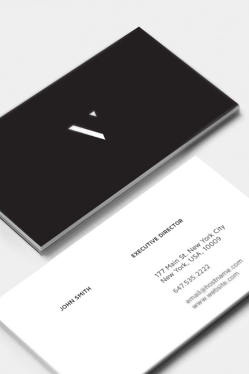 Classic Business Cards Corporate Identity Template 82371 Classic Business Card Graphic Design Business Card Business Card Design Minimalist