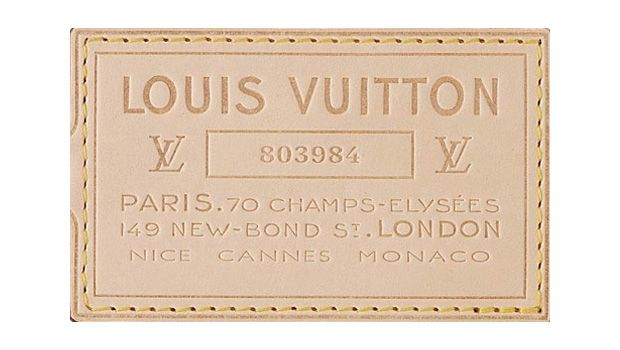 Louis Vuitton label