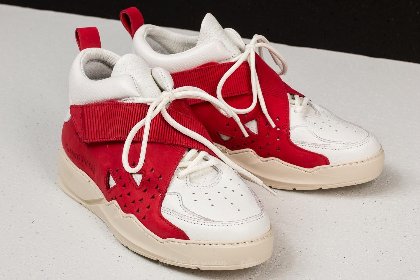 Filling Pieces Alley Oop High Icey Jazzy White  Red at a great price 282 €  buy at Footshop 8967f6939b