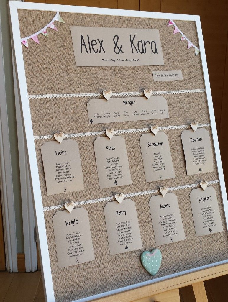 Rustic Countryside Wedding Table Plans Ideas At Wasing Park Aldermaston