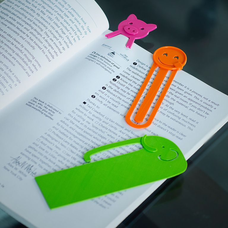 3D Printed Basketball Bookmark Personalised