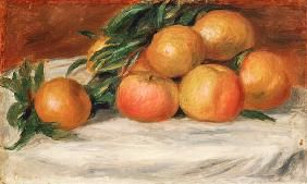 Pierre-Auguste Renoir - Still Life With Apples And Oranges