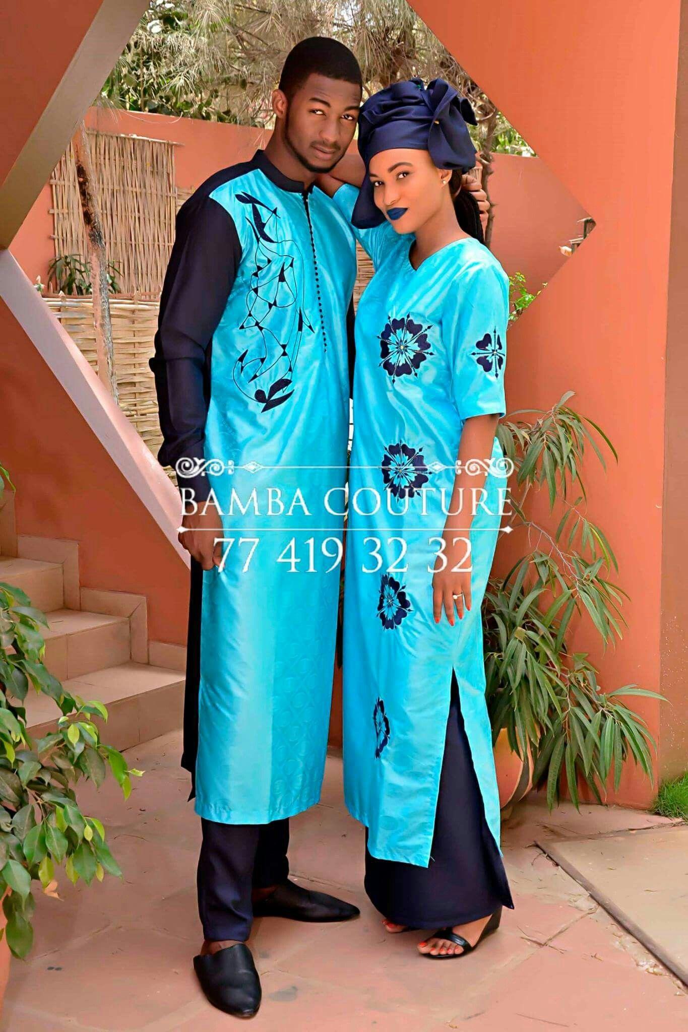 Épinglé par Banna Sané sur couple | Mode africaine, Robe africaine, Mode africaine homme