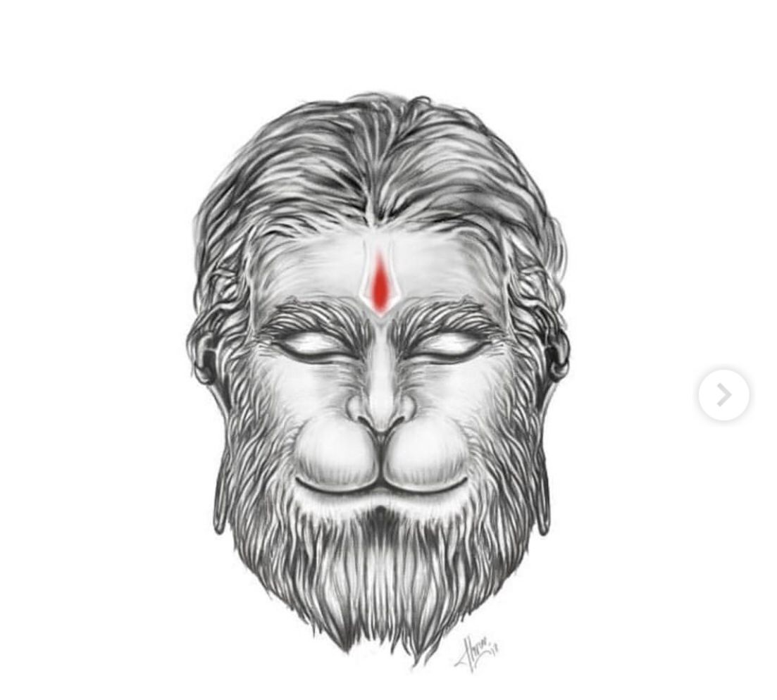 Pin By Suresh Dhawan On Jai Hanuman Hanuman Tattoo Ganesh Art Paintings Lord Hanuman Wallpapers Hanuman tattoo hd wallpaper