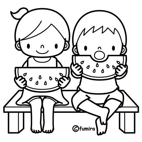 Fruta Bn Dibujos Infantiles Dibujos Para Niños Y Dibujos