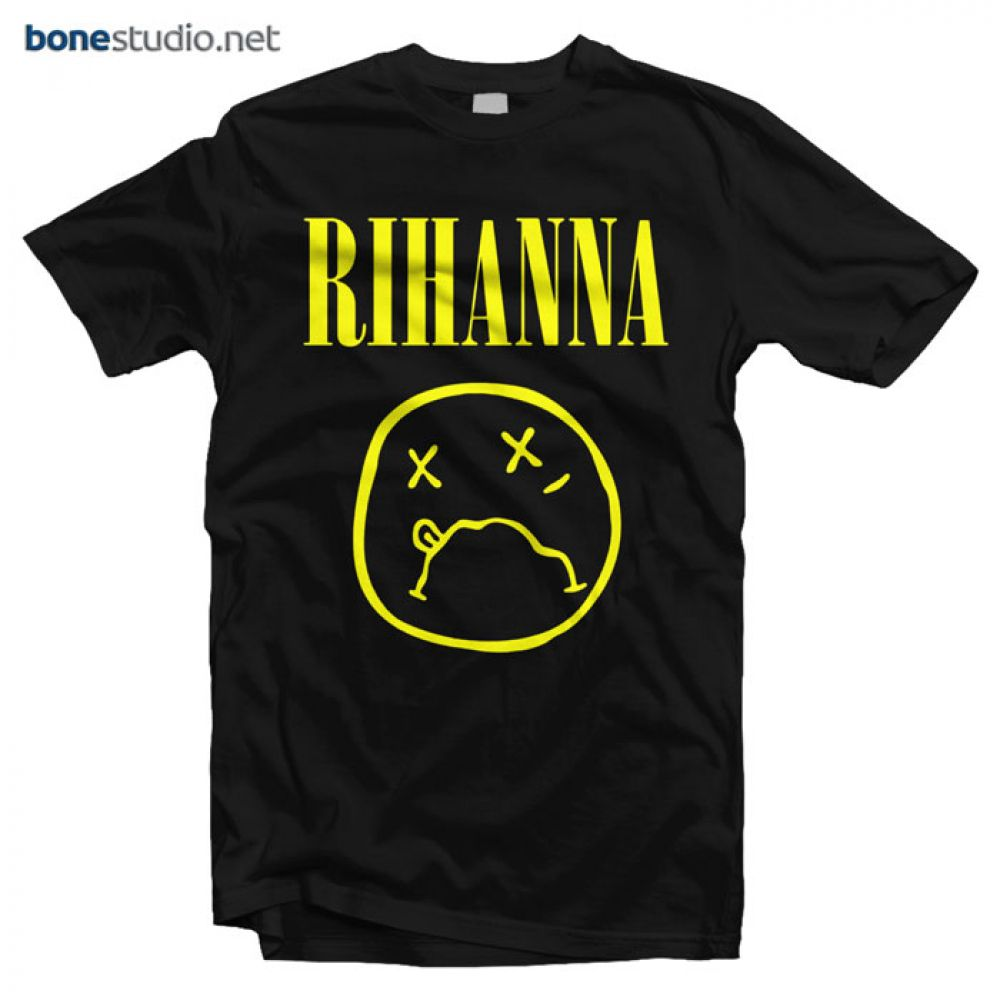 da16867df4954 Rihanna T Shirt Nirvana - Adult Unisex Size S-3XL in 2019 | Band T ...