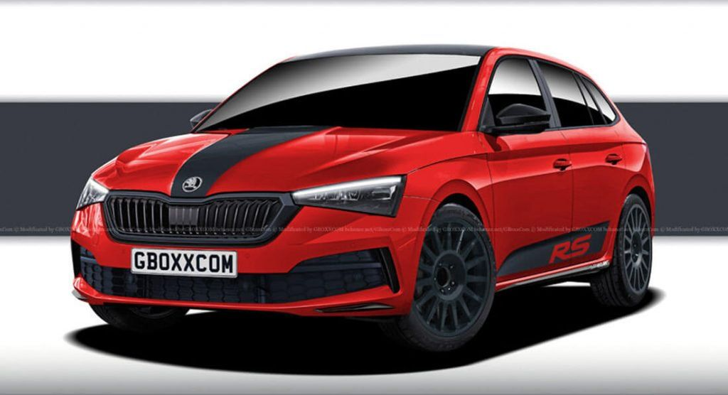 Skoda Scala Rs Hot Hatch Is Possible Heres How It Might Look Like Skoda Hot Hatch Scala