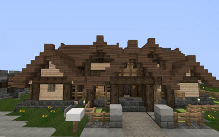 Rustic Log Cabin Minecraft Log Cabin Minecraft Houses
