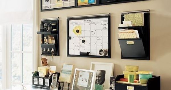 Ideas about home office organization: small home office setup