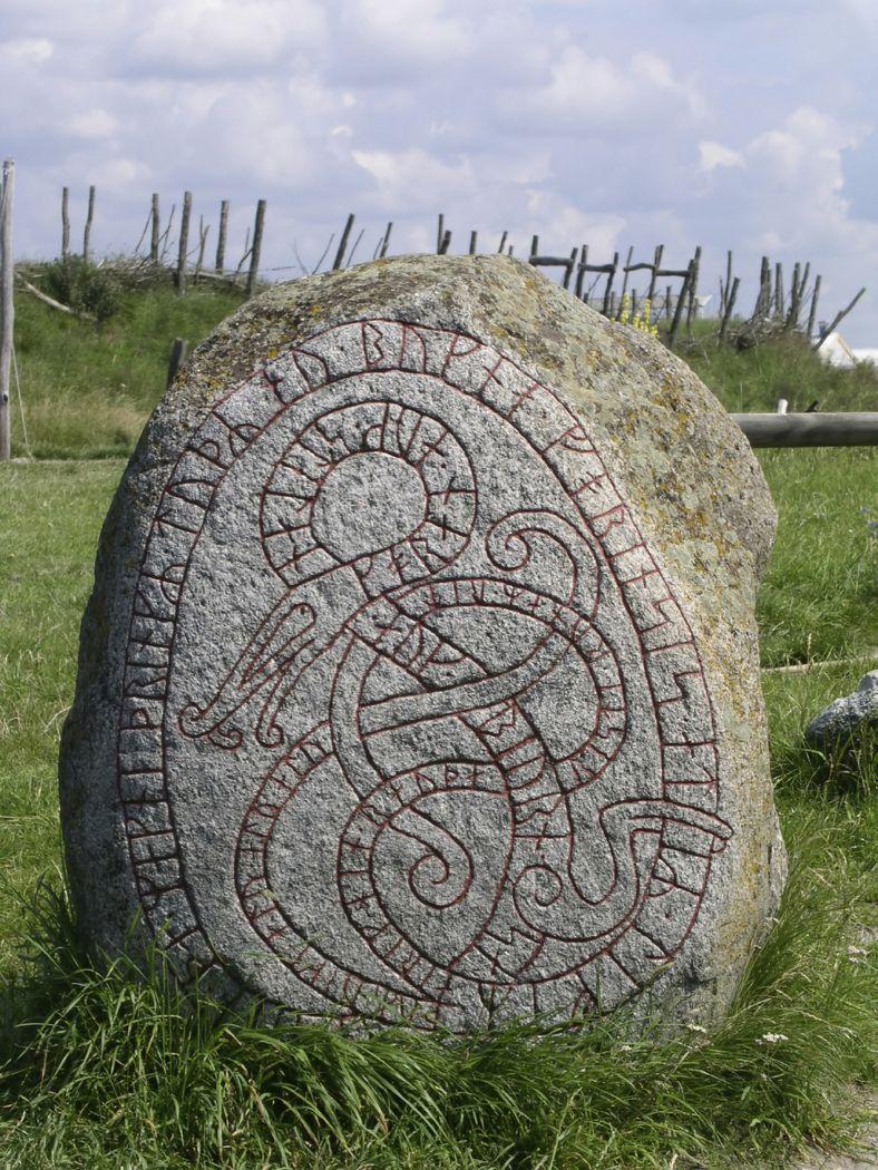 Image of Viking rune stones viking runes in America