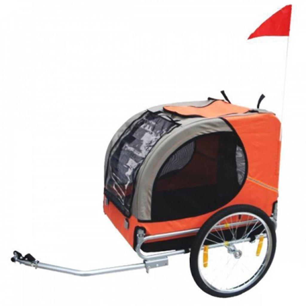 Honden fietskar lassie oranje in nieuw speelgoed new toys