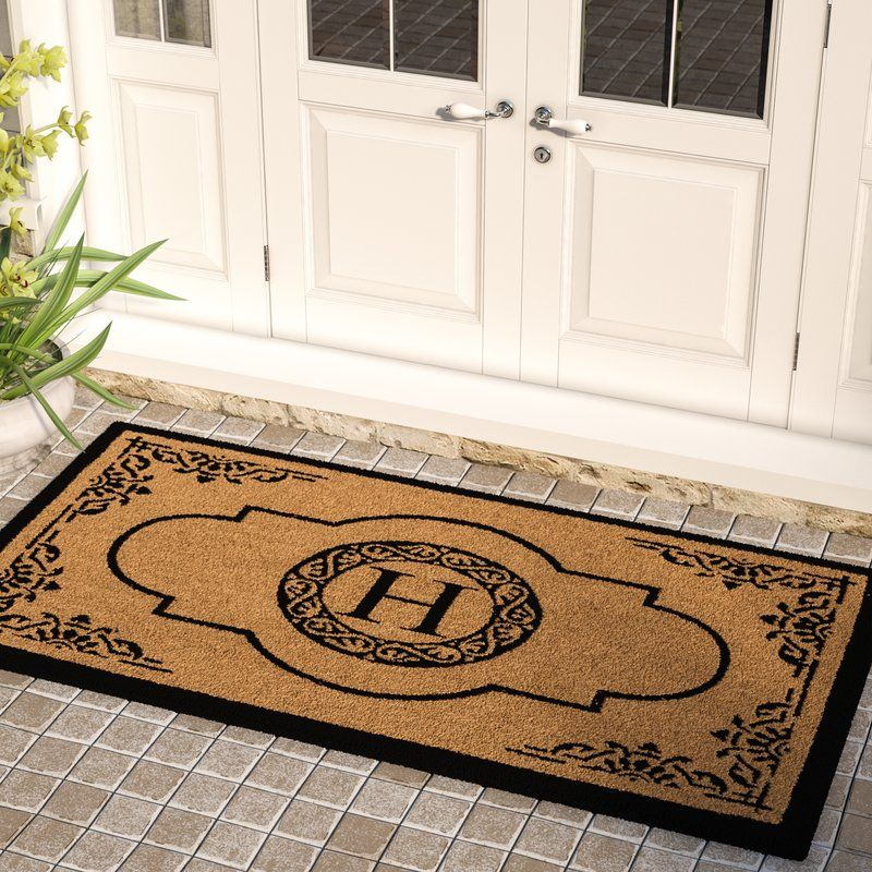 Issac 72 In X 36 In Non Slip Outdoor Door Mat Outdoor Door Mat Door Mat Monogram Door Mat