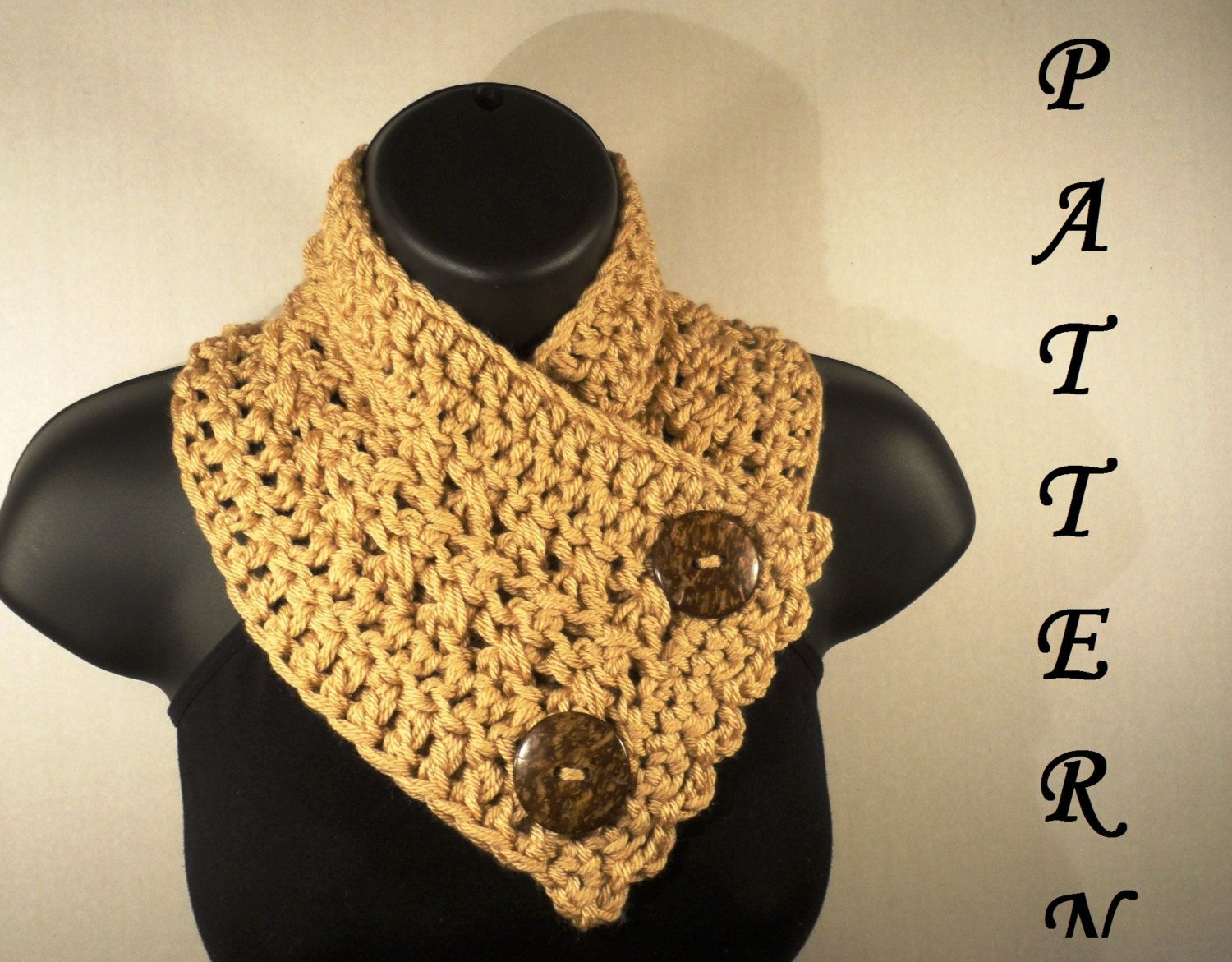 Crochet+Scarf+Pattern+Beginner | Request a custom order and have ...