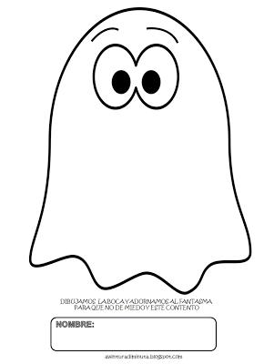 Aventura Diminuta El Fantasma Come Miedos Actividad Para