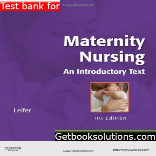 Goulds pathophysiology for the health professions 5th testbank test bank for maternity nursing an introductory text edition by leifer pdf maternity nursing an introductory text edition by leifer test bank fandeluxe Choice Image