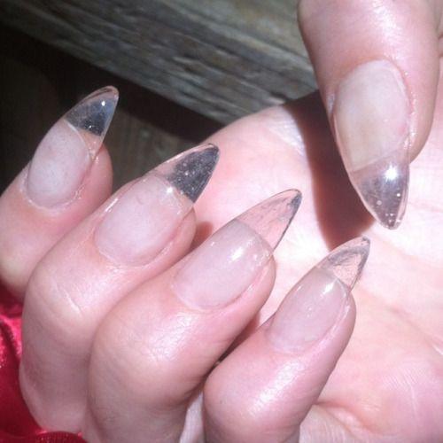 Clear Almond Nails Pinterest Marta Kru
