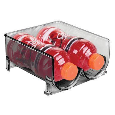 Large Plastic Water Bottle Holder Storage Organizer Rack