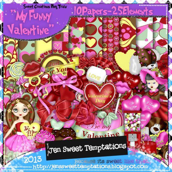 Sweet Temptations: Funny Valentine - Love Me Tender - FTU