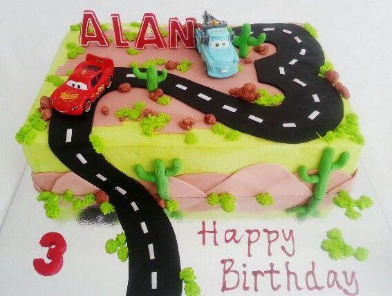 Blue Mater. Lighting McQueen. Road cake. 3rd & Cars cake - Cars 2. Blue Mater. Lighting McQueen. Road cake. 3rd ... azcodes.com