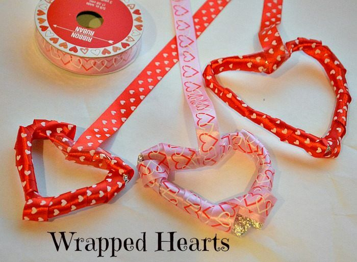 Valentine's Day All Crafts Crafts | Valentine's day crafts for kids : Wrapped Hearts