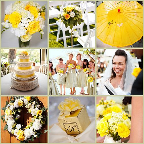 Weddingish Blog » Lemon Yellow Wedding Theme
