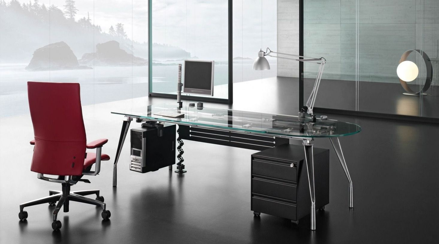 2018 Modern Glass Office Desk Best Home Office Furniture Check More At Adidasj Adidas In 2020 Best Home Office Desk Office Desk Designs Office Desk