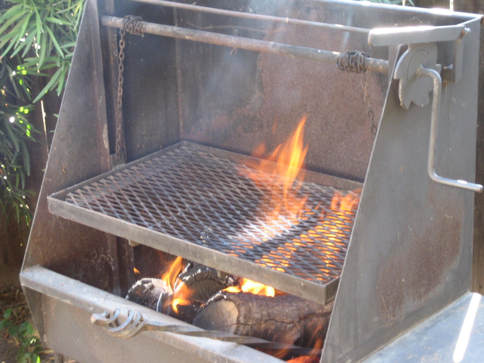 Diesel Gas Near Me >> Santa Maria Wood BBQ Pit | Grills, Red oak and Decking